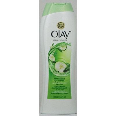 2 Pk. Olay Fresh Outlast Refreshing Cucumber &Grean Tea Body Wash (13.5 Fl. Oz)