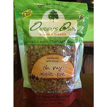 O'Brien's Own Gourmet Granola (Apple Pie) 12 oz. bags, 3 count
