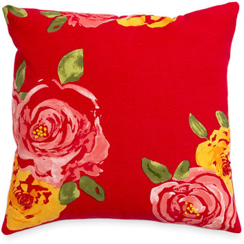The Pioneer Woman Rose Decorative Pillow, 16