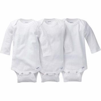 born Baby Onesies Brand Organic Long Sleeve Bodysuits, 3-pack