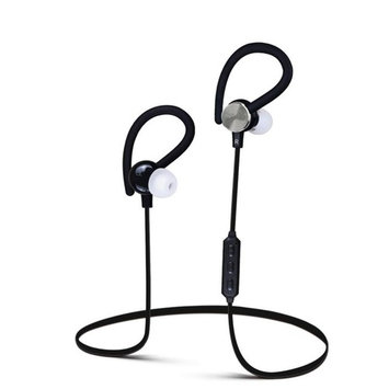 Bluetooth Headphones, AutumnFall In-Ear Earbuds Wireless Earphones with Superb Bass (Built-in Microphone, Bluetooth 4.0 with aptX) (Black)