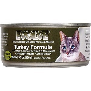 Triumph Pet Industries Triumph Pet - Evolve Turkey For Cats - 24/5.5Oz