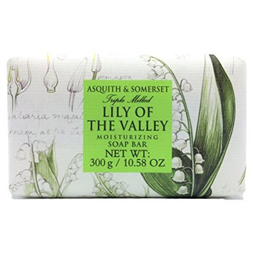 Asquith & Somerset Lily Of The Valley Tripled Milled Moisturizing Soap - 10.58 oz
