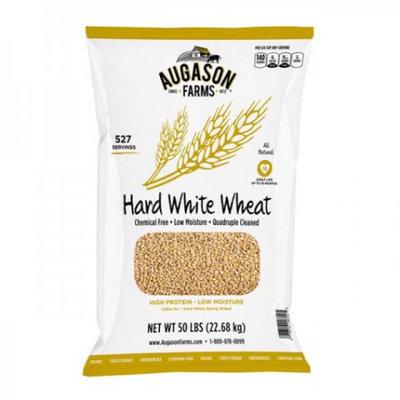 Blue Chip Group Augason Farms Hard White Wheat, 527 Servings, 18 Month Shelf Life, 50 Pound Bag
