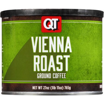 QT Vienna Roast Ground Coffee, 27 oz