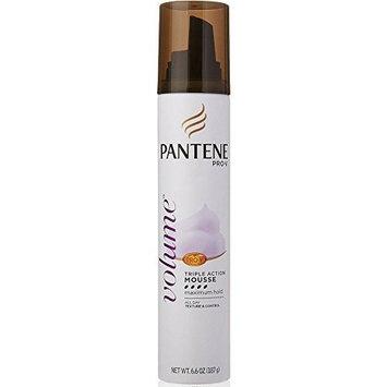 Pantene Pro-V Volume, Triple Action Mousse Maximum Hold 6.60 oz by Pantene