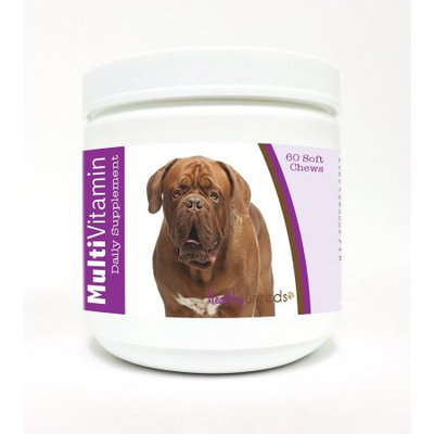 Healthy Breeds Dogue de Bordeaux Multi-Vitamin Soft Chews for Dogs 60 Heart Shaped Chews
