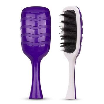 Hair Brush-Magic Detangling Brush, Patented Anti-Static Bristles-Professional Heat-Resistant Styling Tool, Medium Orchid by HeyBeauty