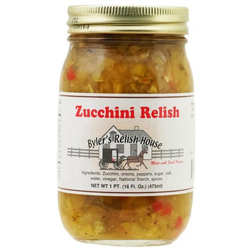 Byler's Relish House Homemade Amish Country Zucchini Relish 16 oz.