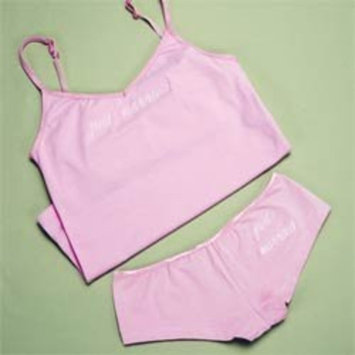 Exclusive Gifts and Favors-Just Married Camisole & Boy Short Set By Cathy Concepts