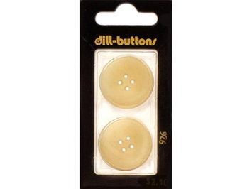 Dill Buttons Of America Dill Buttons 20mm 2pc 2 Hole Navy