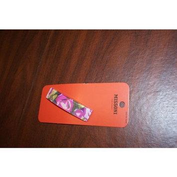 Missoni for Target Purple Floral Barrette