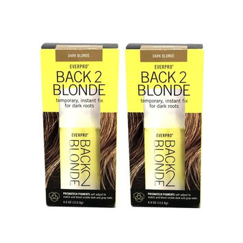Set 2 Everpro Back 2 Blonde Temporary Instant Spray Away Dark Or Gray Roots Hair Color 816132011223