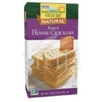 Baked House Crackers 16 Ounces (Case of 12)