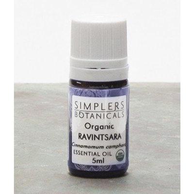 Essential Oil Ravintsara Organic717940000761 Simplers Botanicals 5 ml Liquid