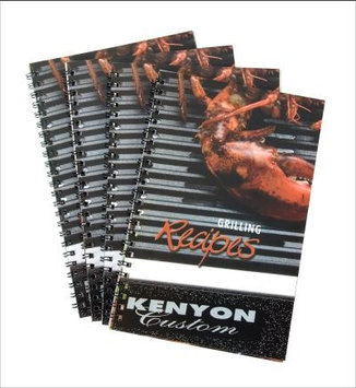 Kenyon A70001 All Seasons Grill Recipe Book