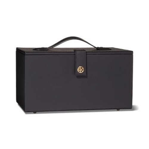 Sonia Kashuk™ Hard Top Makeup Storage Train Case- Black