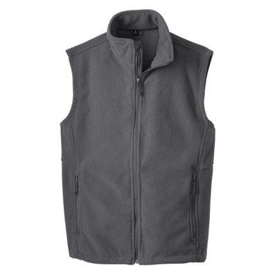 Gravity Threads Soft and Warm Fleece Vest - Iron Grey - 3X-Large