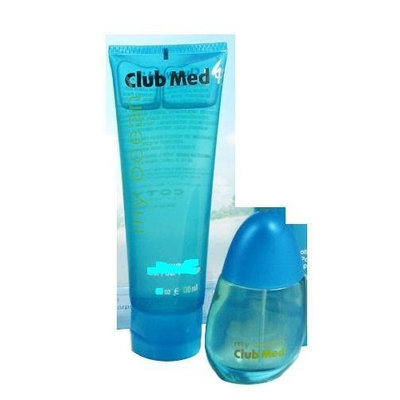Club Med My Ocean, for Her 2 Piece Gift Set: EDT Spray, .33 Oz & Body Lotion 1.85 Oz