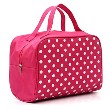 ABASSKY Profession Portable Entrancing Multifunction Travel Cosmetic Bag,Makeup Toiletry Case Pouch