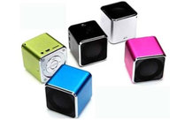Diplomat Trading Inc. Diplomat Trading DTIQBESL Qbe USB Speaker Silver