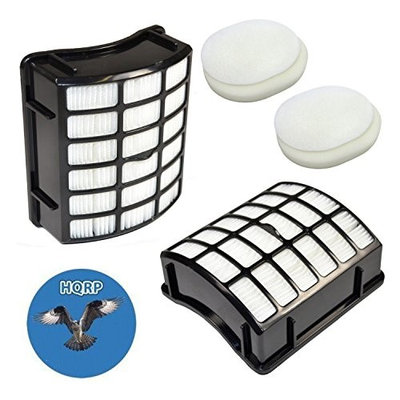 HQRP 2pcs Filters for Kenmore EF-2 fits Kenmore 31732, 33728, 33729 Upright Vacuums