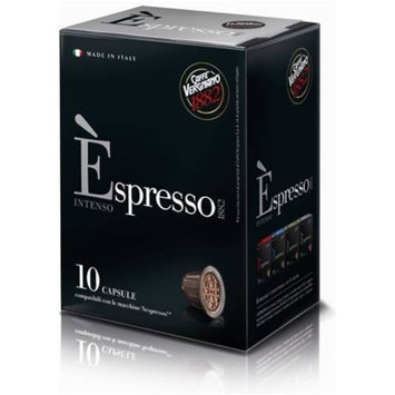 120 Biodegradable Èspresso Capsules by Caffe Vergnano, Nespresso Compatible (Intenso)