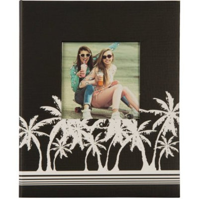 2UP Palm Trees Framed Front Photo Album