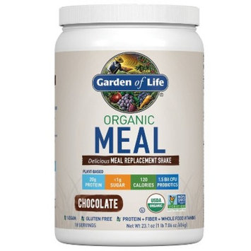 Garden of Life Organic Meal Replacement Shake Mix - Chocolate - 23.1oz