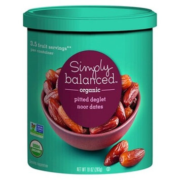 Organic Pitted Dates - 10oz - Simply Balanced™