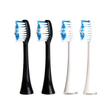 Sonic Electric Toothbrush Deep Clean as Dentist Sonicare Rechargeable Waterproof Toothbrush 5 Modes 2 Replacement Heads Tongue Brush by YASI