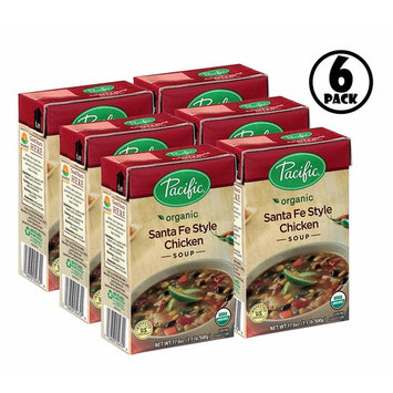 (6 Pack) Pacific Foods Organic Santa Fe Style Chicken Soup, 17.6-Ounces : Grocery & Gourmet Food