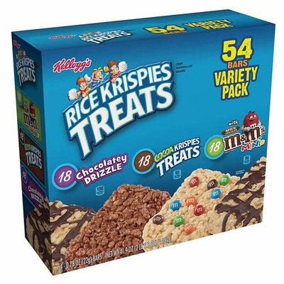 Kellogg Rice Krispies Treats Variety Pack, 54 ct.