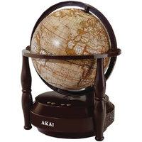 Akai GL705-BT Globe Bluetooth Speaker - Brown