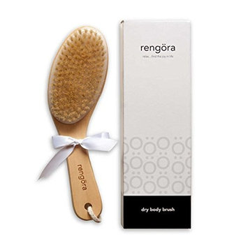 Dry Brushing Body Brush/Exfoliating Brush – Skin Brush Best for Achieving Healthy Skin, Reducing the Appearance of Cellulite, or Improving Lymphatic Drainage. Get Beautiful Skin Today!