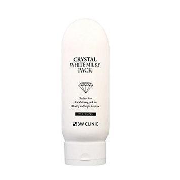 3W Clinic Crystal White Milky Pack 7.05Oz Moisturizing Nutrition Whitening