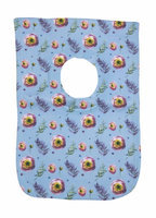 Greatlookz Fashion Greatlookz Child Connoisseur Cotton Printed Baby Bib, Flowers and Ferns