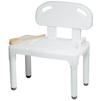 Bathtub and Shower Transfer Bench Chair with Exact Level Patented Height Adjustment