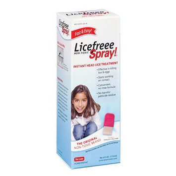 LiceFreee! Lice Killing Hair Spray 6 OZ - Buy Packs and SAVE (Pack of 5): Health & Personal Care