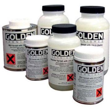 Golden Artist Colors 8 oz. Mineral Spirit Acrylic with UVLS Satin Varnish