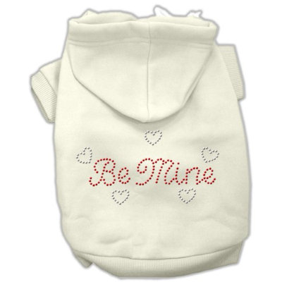Mirage Pet Products 5412 SMCR Be Mine Hoodies Cream S 10