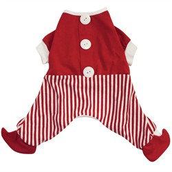 Hagen Dogit Christmas Santa PJs - Small