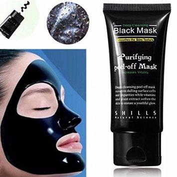 Blackhead Mask,LuckyFine Blackhead Remover Deep Cleansing Purifying Peel-off Mask/Black Mud Face Mask/Blackhead Cleansing Mask [Black, #1]