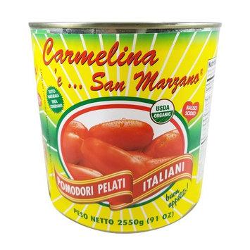 Carmelina 'e San Marzano Italian Peeled Tomatoes in Puree , 91-Ounce Cans (Pack of 6)