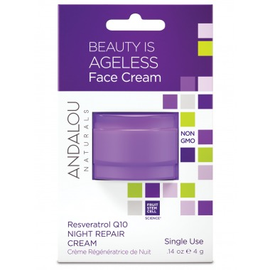 Beauty Is Ageless Face Cream Pod Andalou Naturals .14 oz Cream