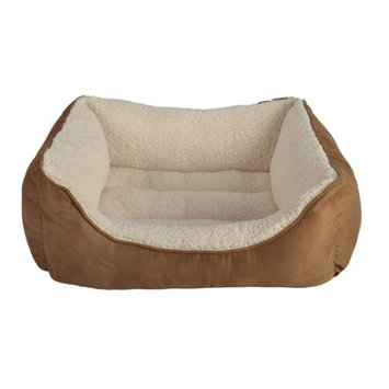 Petra Industries Petspaces SUEDE MED RECT PET BED