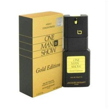 One Man Show Gold By Jacques Bogart Edt Spray 3.3 Oz Men
