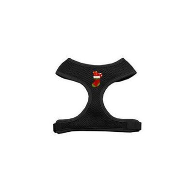 Mirage Pet Products 73-09 MDBK Stocking Chipper Black Harness Medium