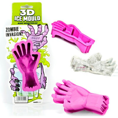 Atb 2 Zombie Hand 3D Ice Mould Ice Cube Mould Mold Jello Candy Party Silicone Tray!