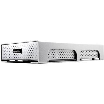 Rocstor 6TB ROCPRO 900A FW 800 USB 3.0 7200 RPM DRIVE ESATA ALUMINUM SILV